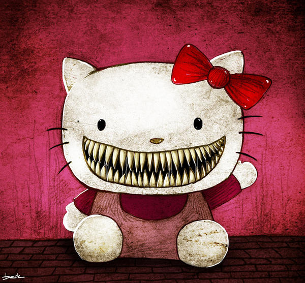 hello kitty by berkozturk