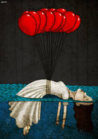 red balloons by berkozturk