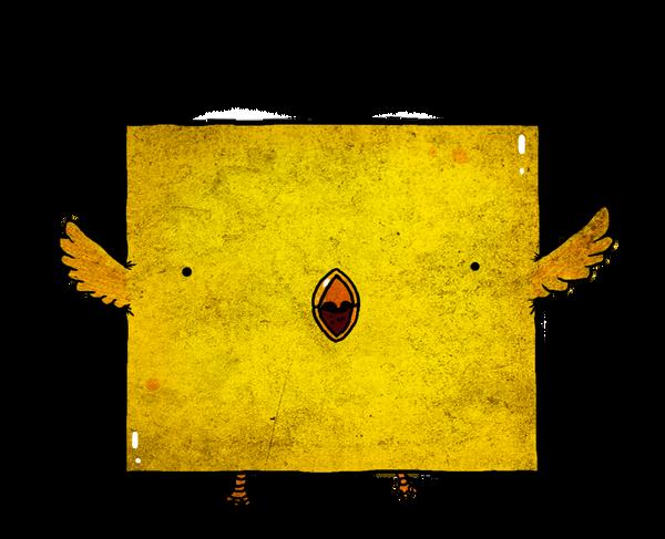 square bird by berkozturk