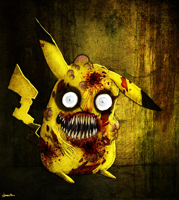 Zombie Pikachu 2 By Berkozturk On DeviantArt