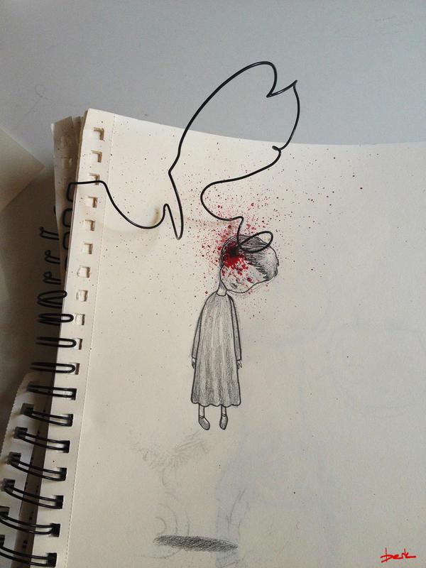 suicide by berkozturk