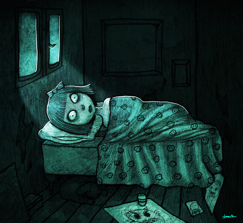 insomnia by berkozturk