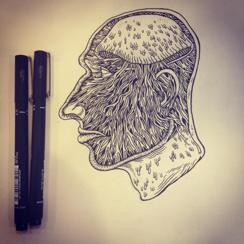 mushroomhead by berkozturk