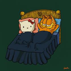 cat love by berkozturk