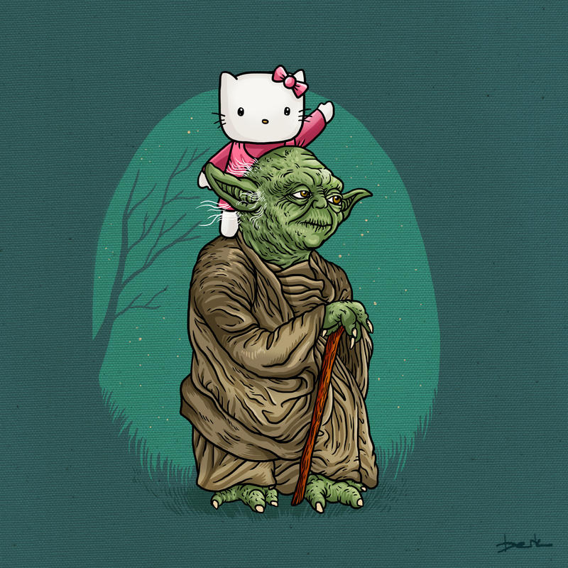 hello yoda by berkozturk