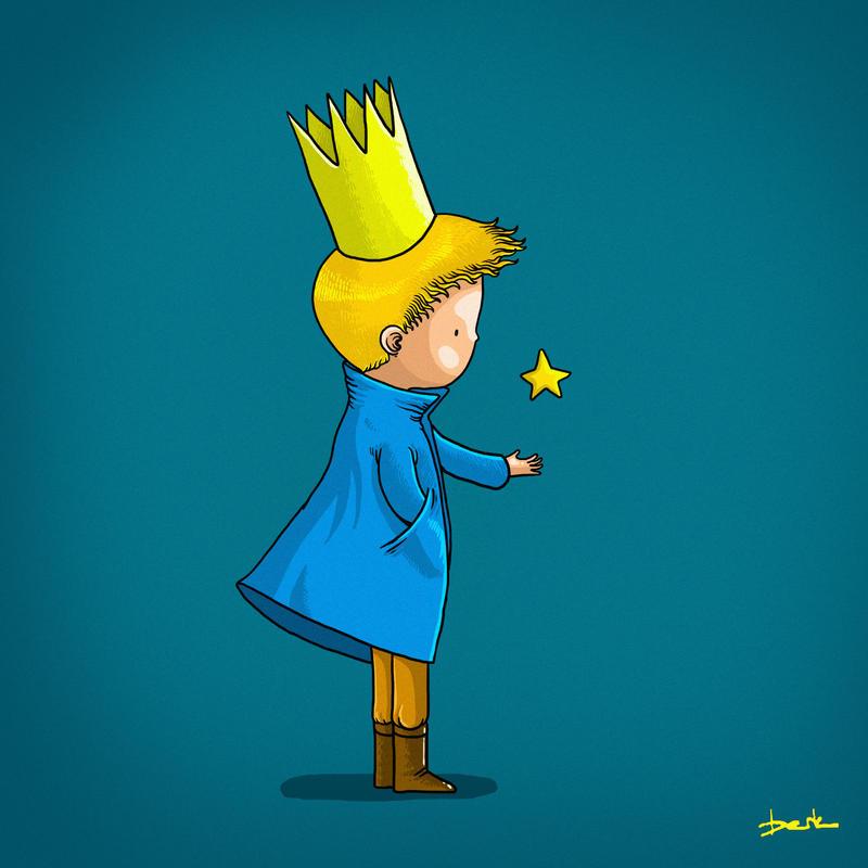 little prince by berkozturk
