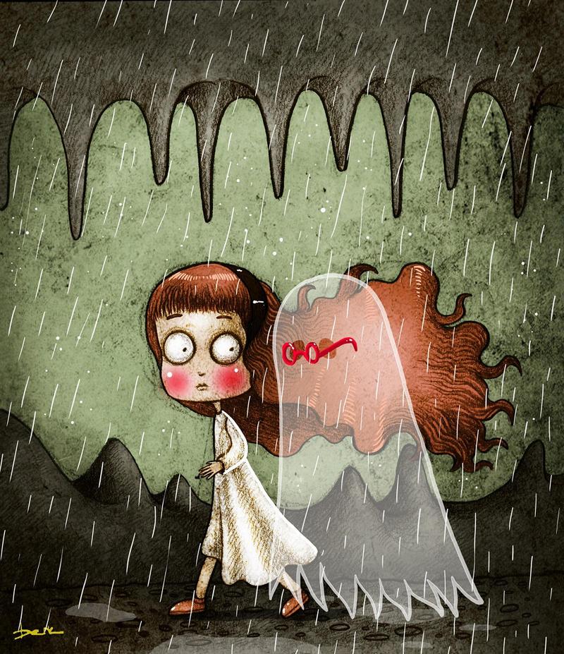 heavy rain by berkozturk