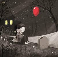 dead balloon by berkozturk
