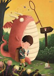 obese dragon by berkozturk