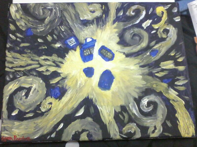 tardis art exploding - photo #25