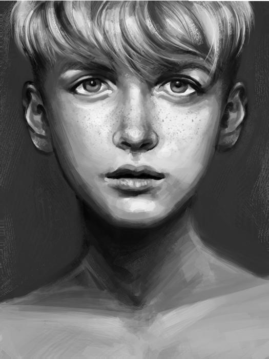 Illegibilus: Hamish Portrait by row