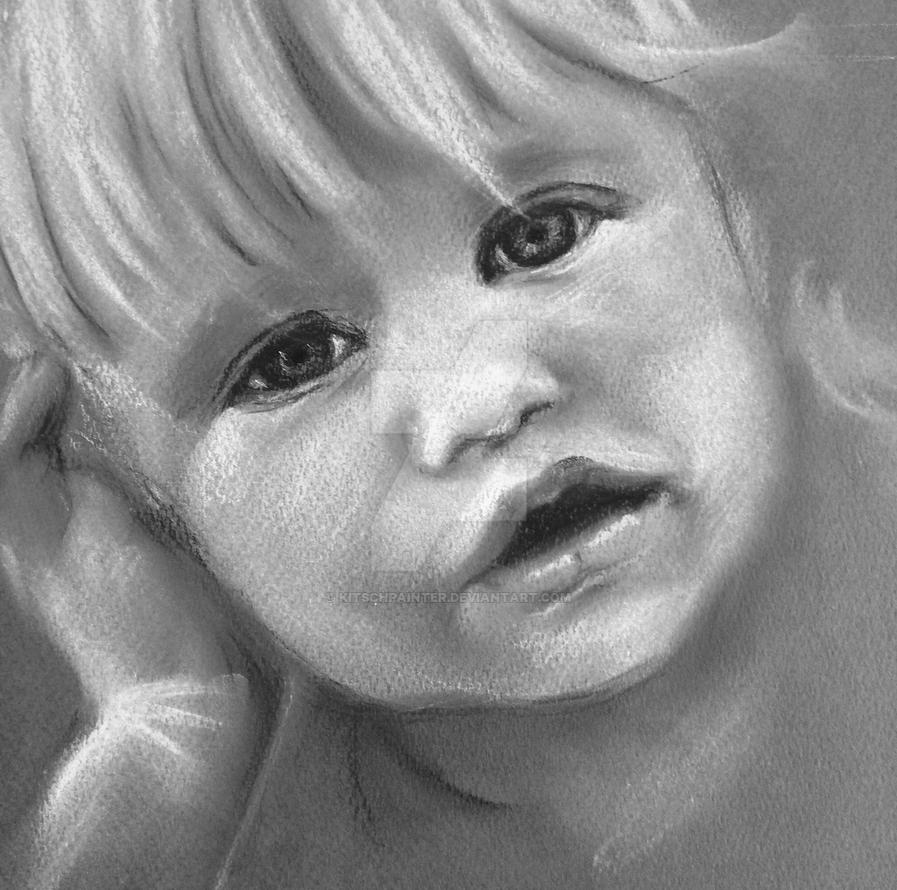 Baby Girl by kitschpainter