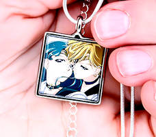 Necklace - Neptune and Uranus by xLilithScreamx