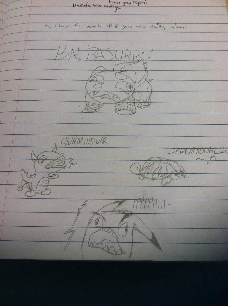 Check Out Mah Pokemanz by REDR0GUE