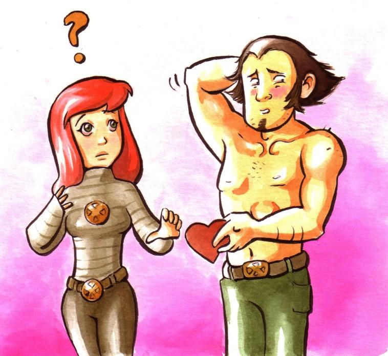 Wolverine in love by Gigei