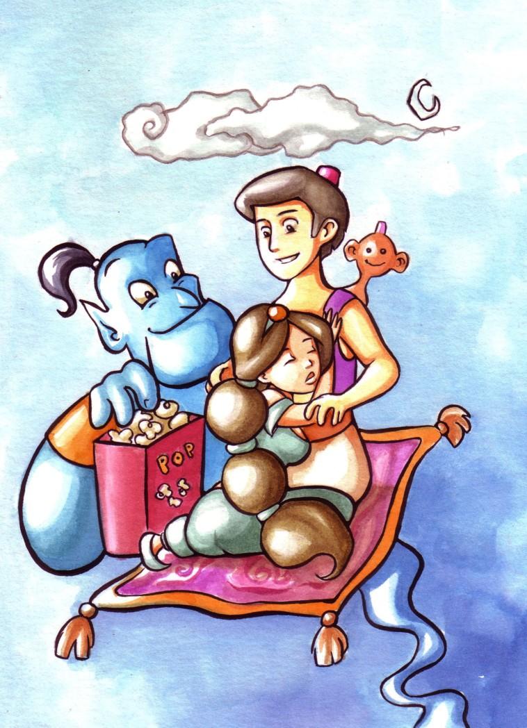 Aladdin by Gigei