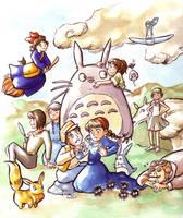 Miyazaki by Gigei