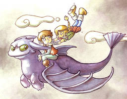 How to train your dragon by Gigei