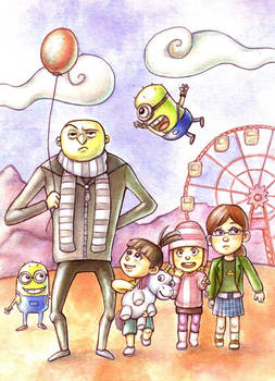Despicable Me by Gigei