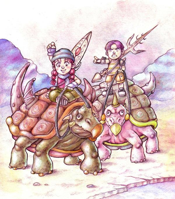 Turtle Race by Gigei
