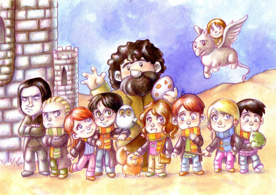 Harry Potter by Gigei