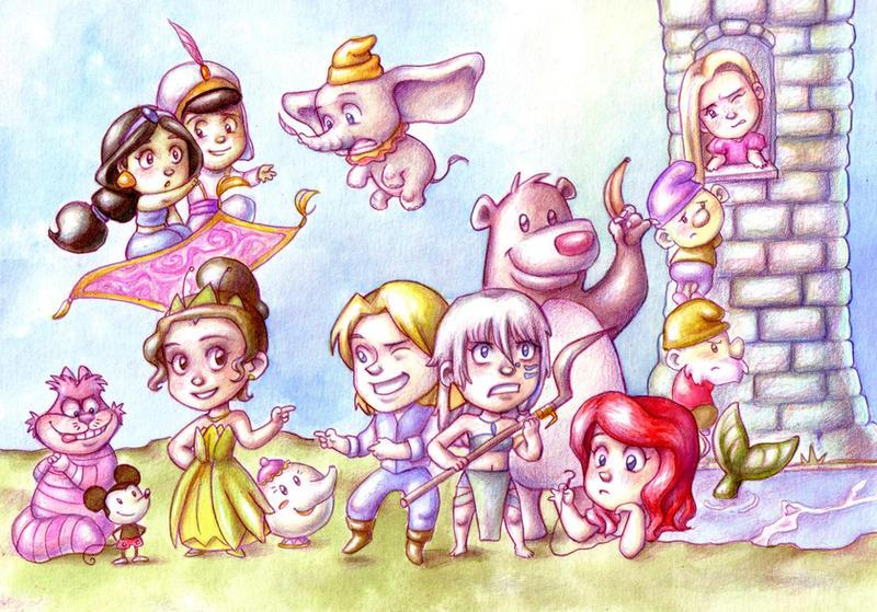 Disney by Gigei
