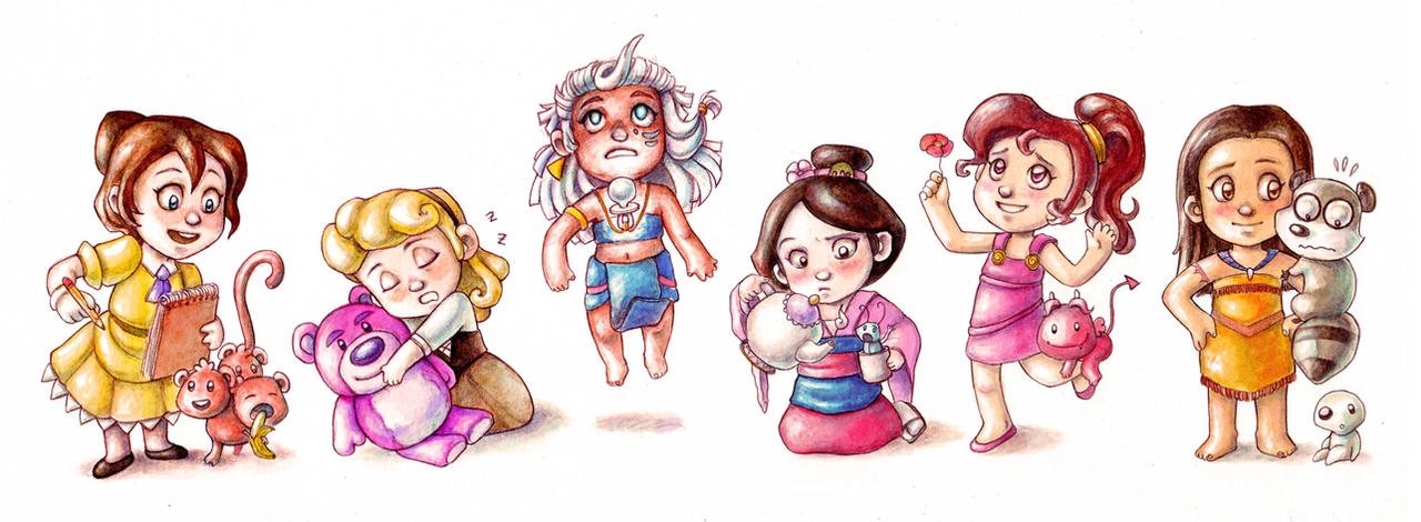 Disney Babies3 by Gigei