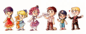 The Hunger Games Chibis