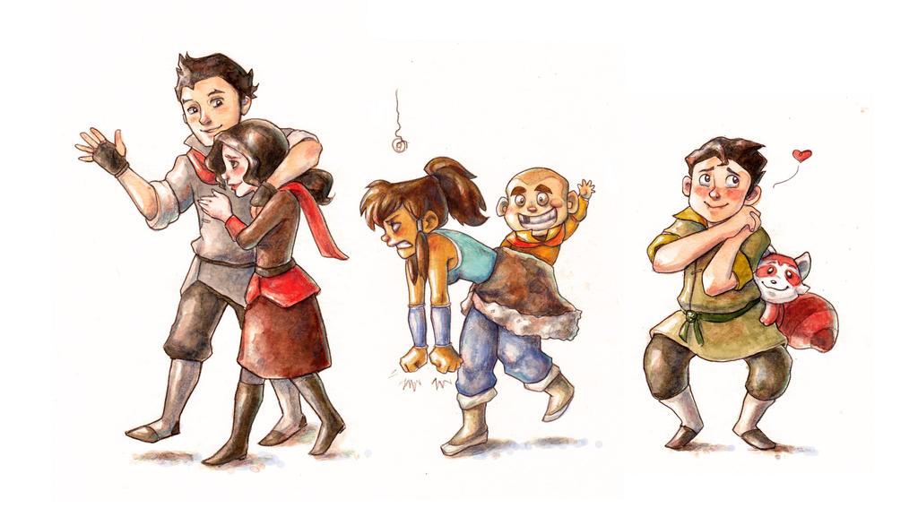 The Legend of Korra by Gigei