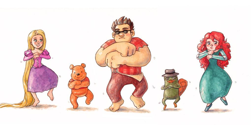 Disney Gangnam Style by Gigei
