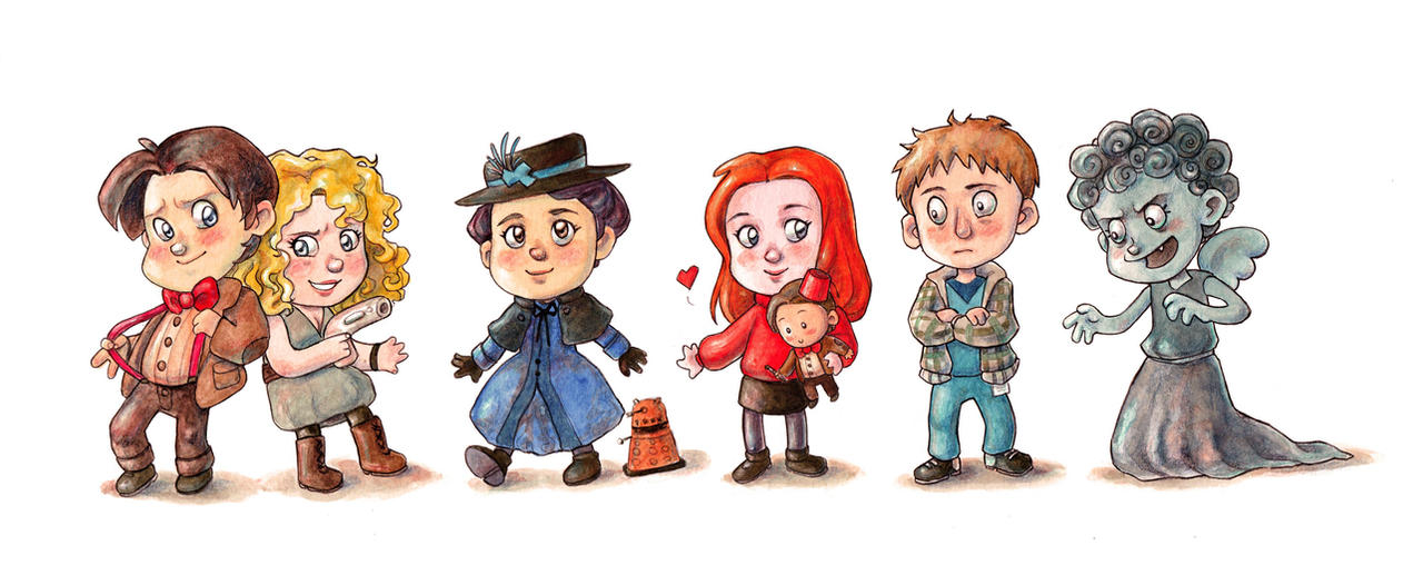 Doctor Who Eleven By Gigei On DeviantArt