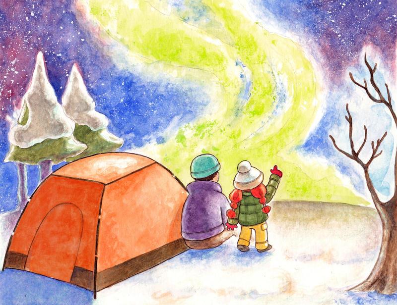 Aurora Borealis by Gigei