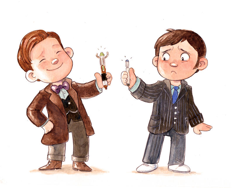 Doctor Who 50th anniversary by Gigei