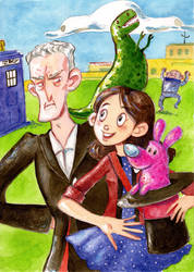 Doctor who I'm not a magician by Gigei