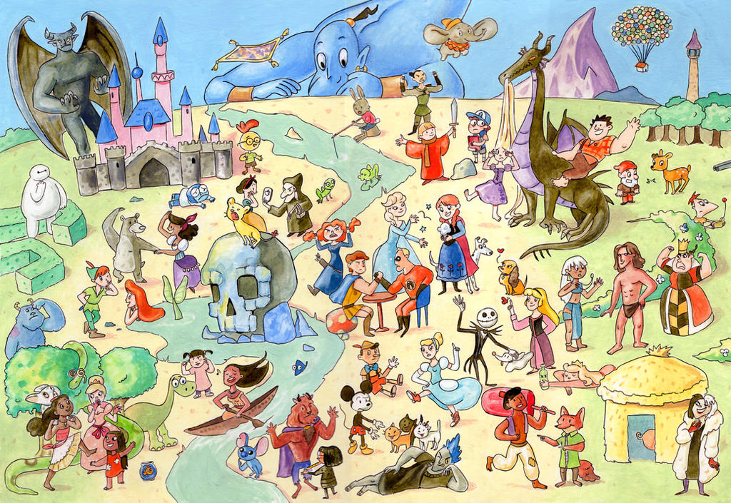 Disney Mix by Gigei