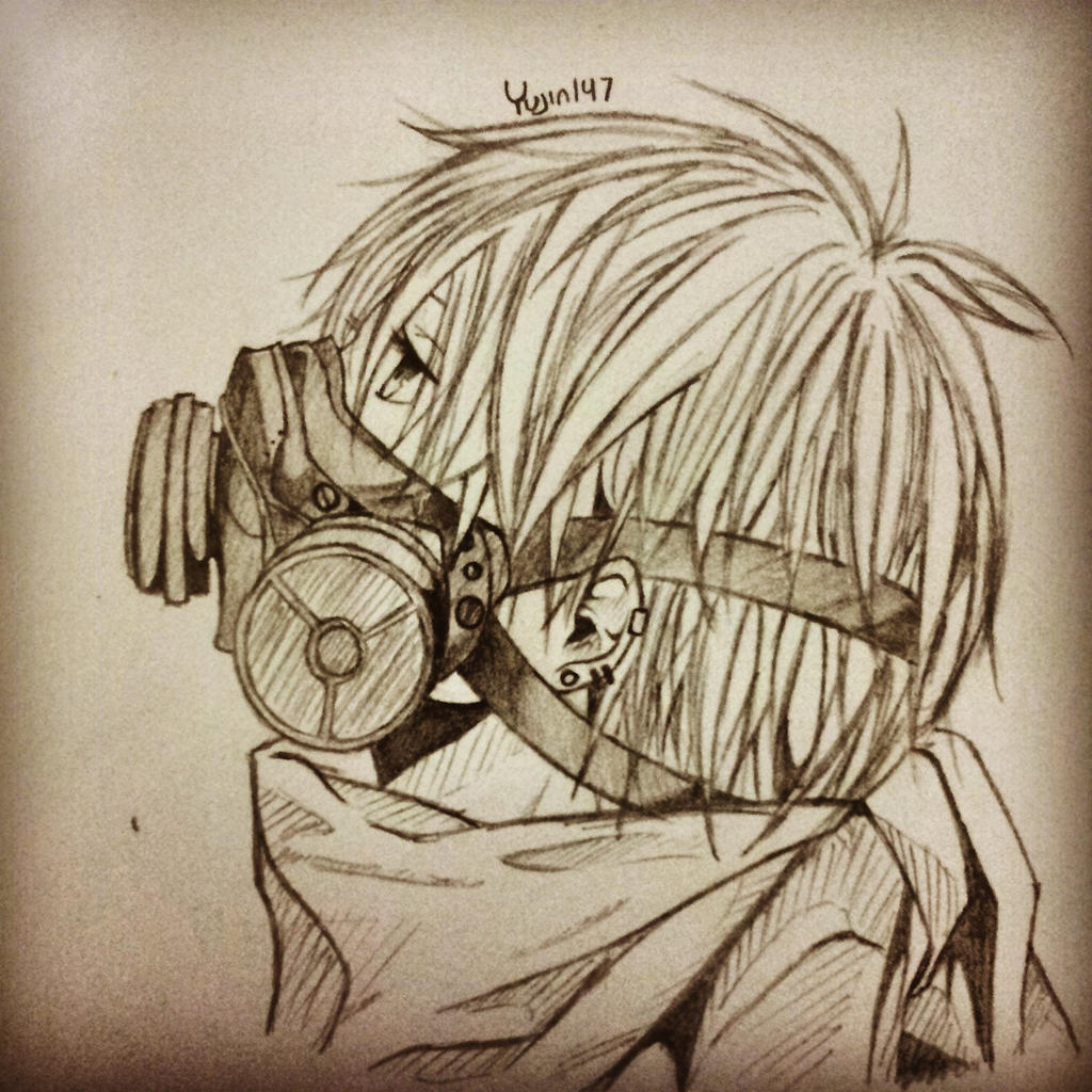 Gas Mask Boy By Yujin147 On DeviantArt