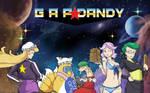 Gap Dandy [Space Dandy x Touhou] Wallpaper