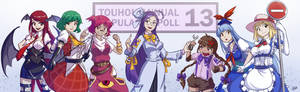 Touhou Wiki Popularity Poll 13 - My Entries
