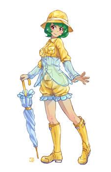 Yuuka's Summer Fashion