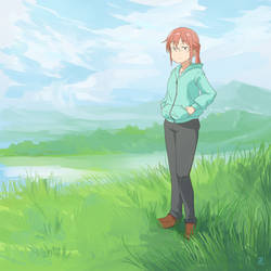 Kobayashi in the Fields