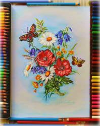 My favorite colored pencils... :)