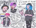 Enby genderfluid tonks