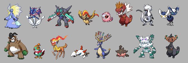 Poke Fusion - Generation 6 by dippygamer64