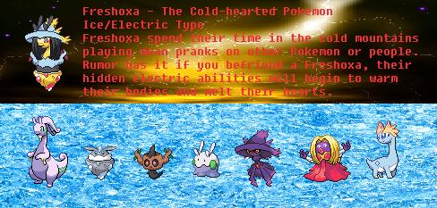 Pokemon Sprite - Freshoxa by dippygamer64