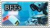 WALL-E Stamp: BFFs by XxoOjunefoxOoxX