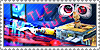 WALL-E Stamp: Red Button by XxoOjunefoxOoxX
