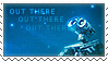 WALL-E Stamp: Out There by XxoOjunefoxOoxX