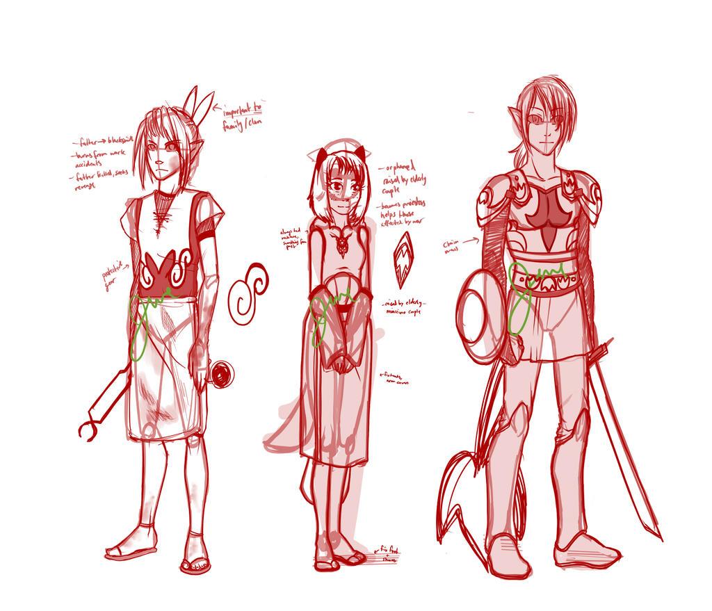 Character Design Editor : Character design whitenuzlocke starters edit by