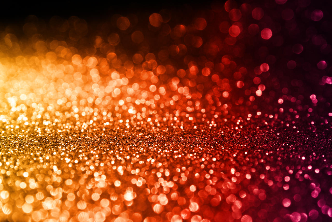 rainbow bokeh red glitter - photo #8
