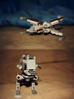 Lego Star Wars by FallOutGirl9001